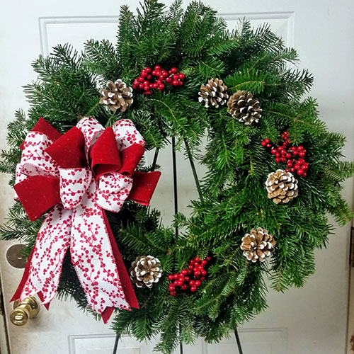 Why Do We Have Christmas Trees For Christmas: Beautiful Wreaths Crafted With Fresh Cut Fir And Pine