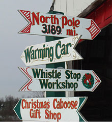 Family outings begin at the Beckwith Christmas Tree Farm-the Christmas Tree Station in Hannibal, New York